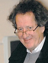 Geoffrey Rush at the Clock Tower